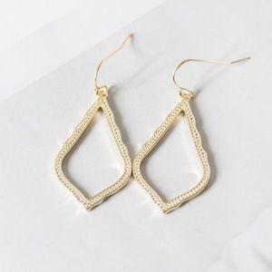 Kendra Scott Sophia Gold Drop Earrings